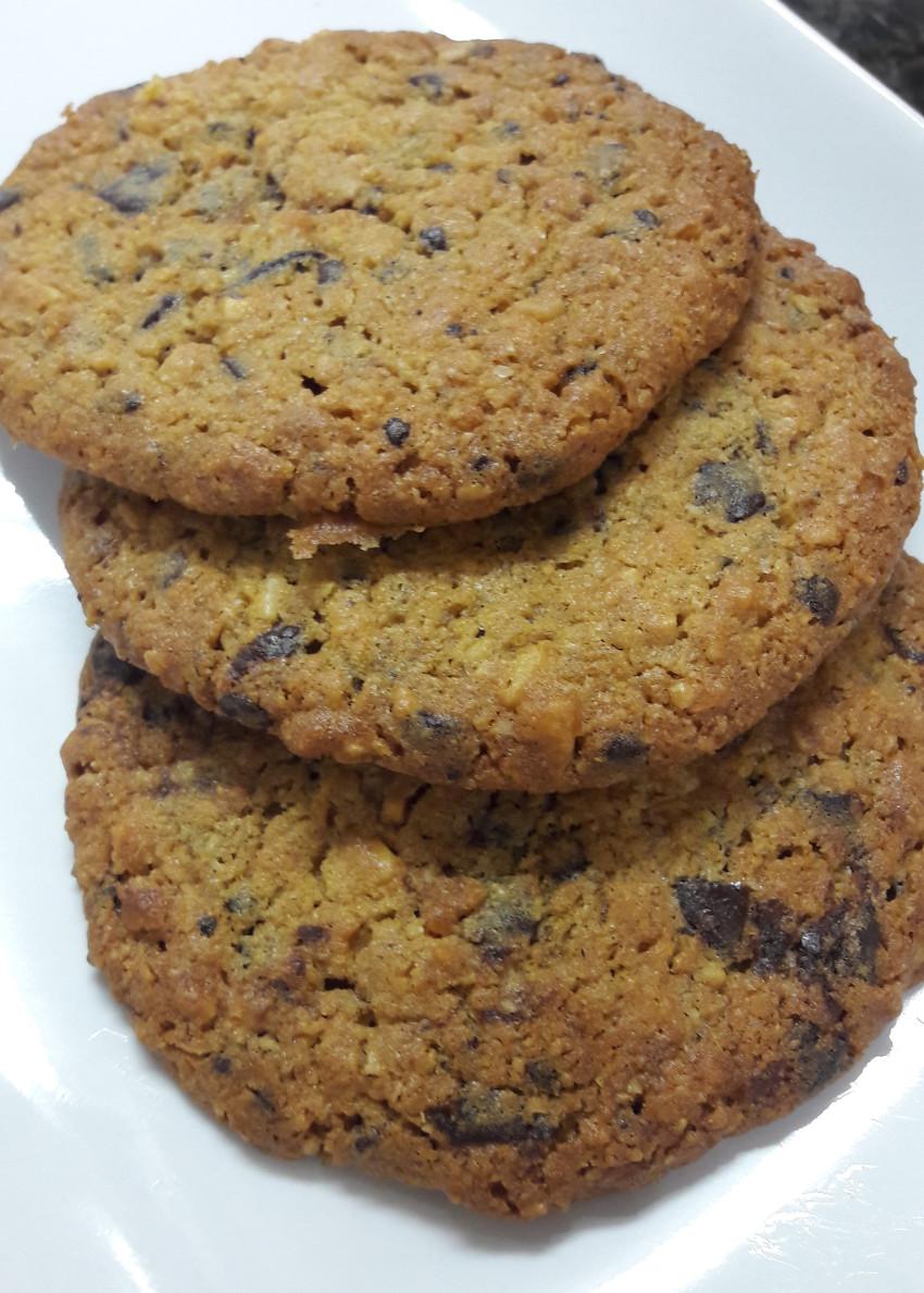 gluteeniton suklaacookie